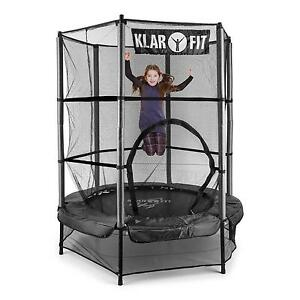 140cm kinder trampolin garten outdoor indoor jumper spielzeug sprung h pfburg ebay. Black Bedroom Furniture Sets. Home Design Ideas