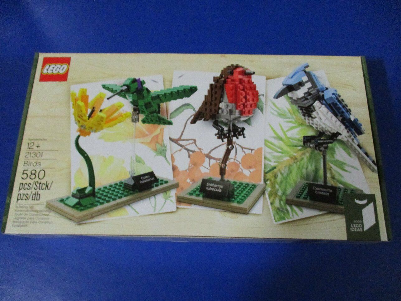 LEGO 21301 IDEAS Birds Oiseaux Sauvages Neuf ouvert neuf dans sa boîte non ouvert Neuf 6572fa