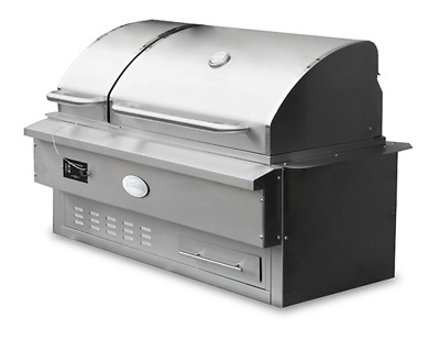 Built in Louisiana Pellet Smoker BBQ Stainless Steel Outdoor Kitchen Estate  | eBay