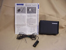 Vintage Shure SM18B-50 sm 18 small pzm Dynamic Cardioid Mic low impedance inst