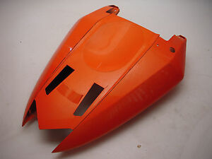 2006-ZX6R-zx600-ZX636-Kawasaki-Rear-Tail-Section-Cover-Orange-used-36040-0016