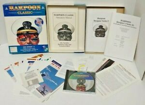 Harpoon-Classic-Windows-3-1-PC-GAME-BIG-BOX-VERSION-CD-Complete-Mint-Disc-Works