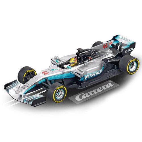 Carrera 27574 Mercedes-Benz F1 W08 'L Hamilton, No 44' - 1 32 Slot Car
