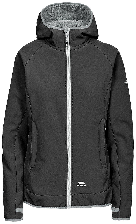 Trespass TP75 Imani Damen Outdoor Softshelljacke in Schwarz erhältlich -