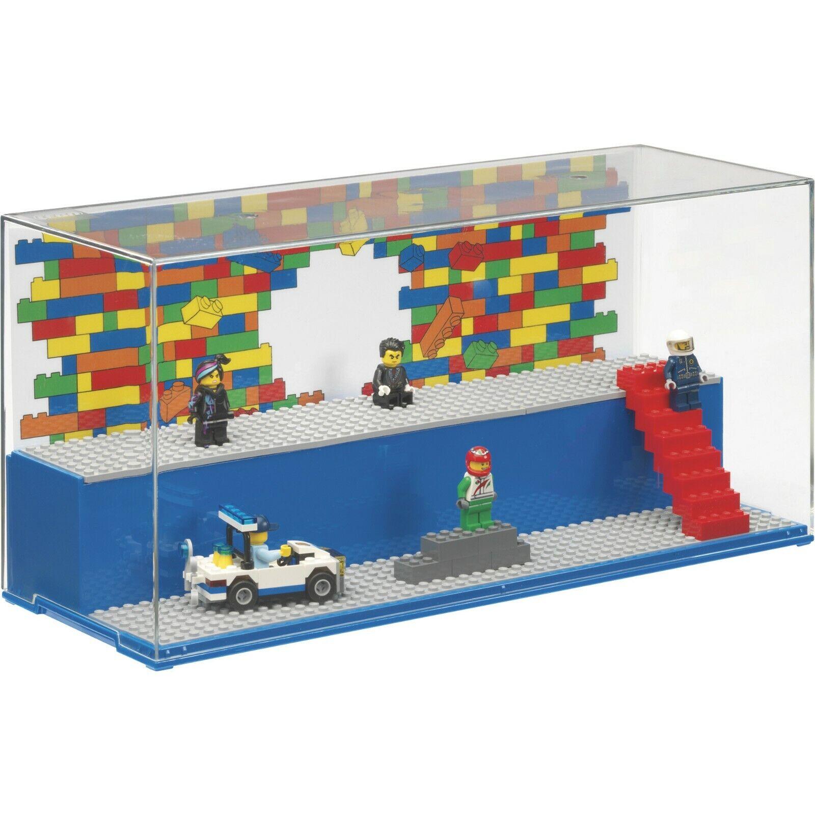 Lego red Gioco & Vetrina Esposizione Nuovo - 2 Livello Livello Livello Display Mini Personaggi 2929d6