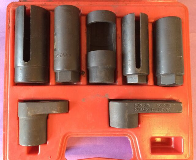 Astro Pneumatic 7801 Sensor and Sending Unit Socket Set 7pc W//Case