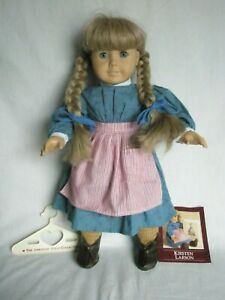 Pleasant-Company-American-Girl-Doll-Kirsten-Wearing-Her-Meet-Outfit