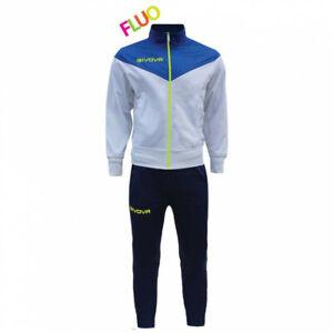 Completo-Tuta-New-Venezia-Fluo-GIVOVA-Uomo-Donna-Bambino-Unisex-Sportiva-Sport-R