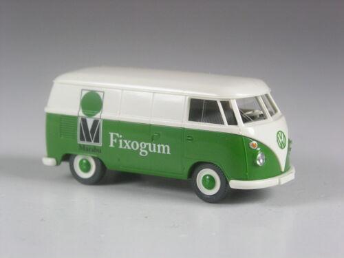Wiking Sondermodell VW T1 Kasten Fixogum TOP