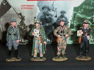 King And Country Wss75 Ensemble De Figurines Soldat Jouet En Métal Conférence Allemande
