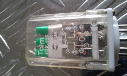Relais 3 Öffner oder Schließer 24V Spulenspannung 10A ETJQX-10F-3Z-24VDC