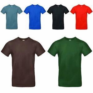 B/&C Herren Kurzarm Polo T-Shirt verschiedene Farben und Größen S XXXL