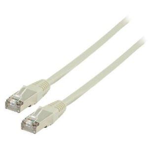 CORDON CABLE RESEAU ETHERNET NETWORK RJ45 FTP CAT5E DROIT BLINDE 20M 20 METRES