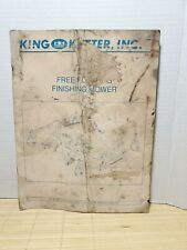 Owners Manual Kingkutter Winfield Al 3pt Hitch Float Finish Mower Side Discharge