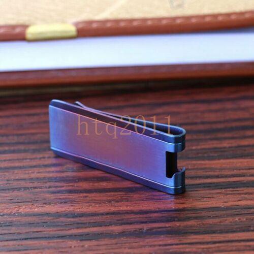 Tiremet Titanium Money Clip Wallet Credit Card Cash Bottle Opener EDC Holder