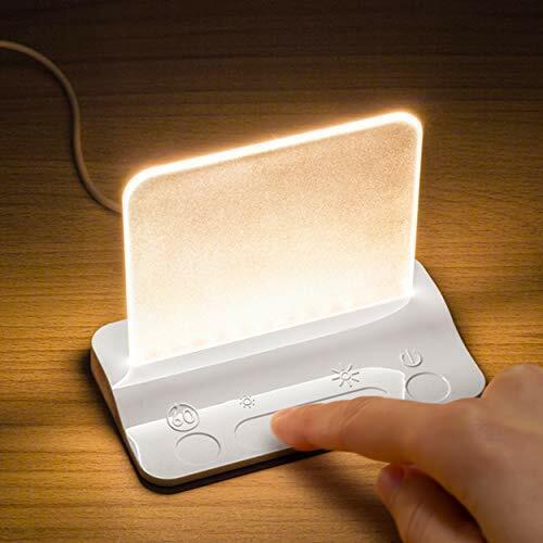 Integral Touch Glow DEL Lumière Nuit Lampe Avec TOUCH gradation Contrôle Tactile Lampe
