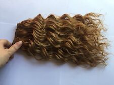 Long Synthetic Hair Rooting Reborn Babies Toddlers Curls Blonde NOT Mohair
