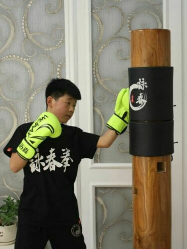 2 Pack Wing Chun Ip Man Wooden Dummy Head Protect Pads Wing Stun Kung Fu Pads