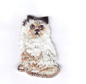 """DOG ANIMALS-  Iron On Embroidered Patch /""""PETS/"""" CAT BIRD"""