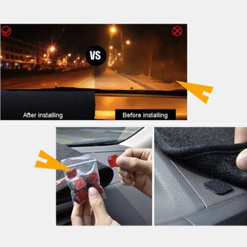 For Peugeot 307 2008-2013 Dashboard Cover Non slip Dash Mat Sun Shade Carpet Pad