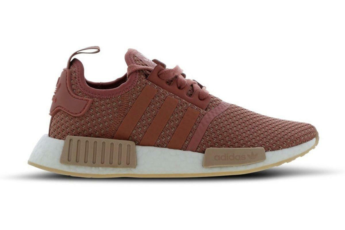 Womens ADIDAS NMD_R1 W Pink Running Trainers AP9972