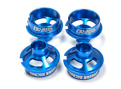 Team Associated 91814 B6.1 Shock Caps and Spring Cups RC10 B6D