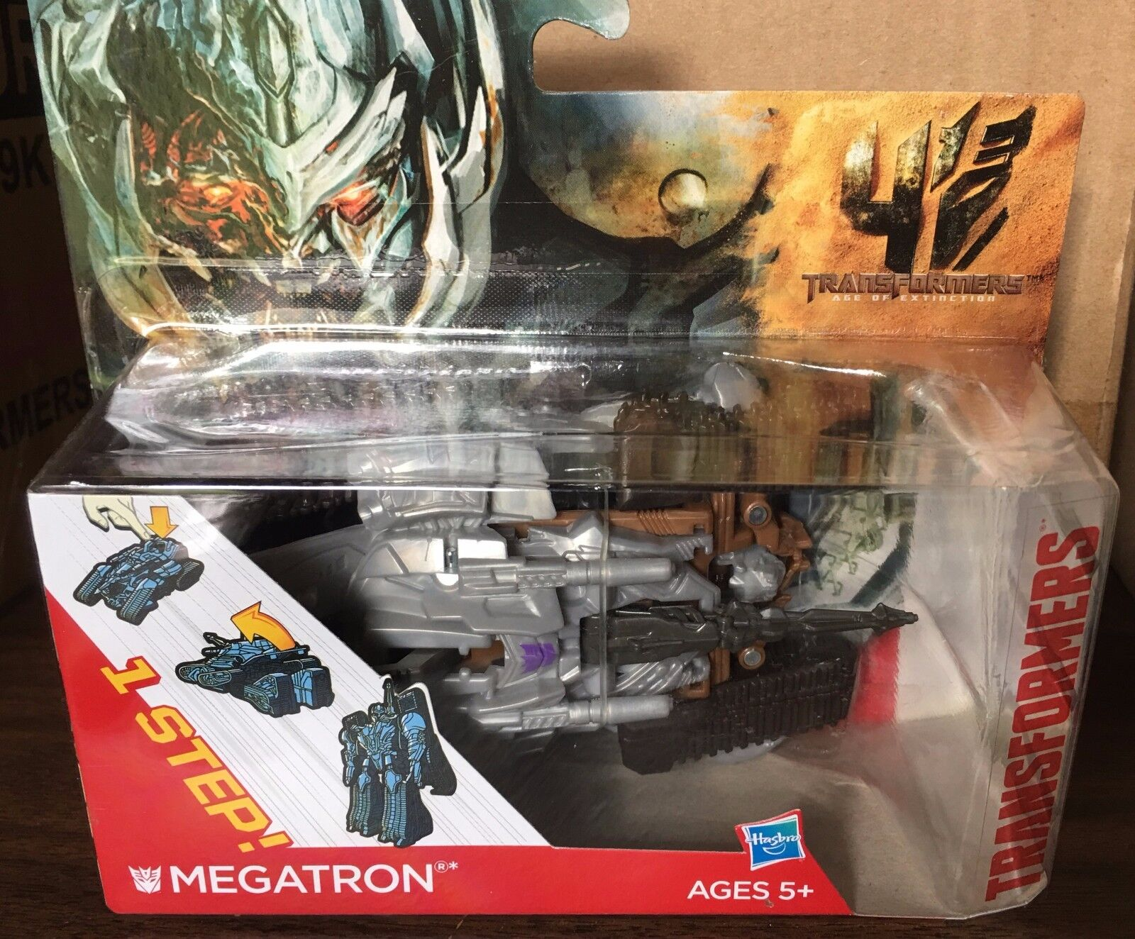Transformers Age of Extinction One-Step Changer   Megatron (MOSC)