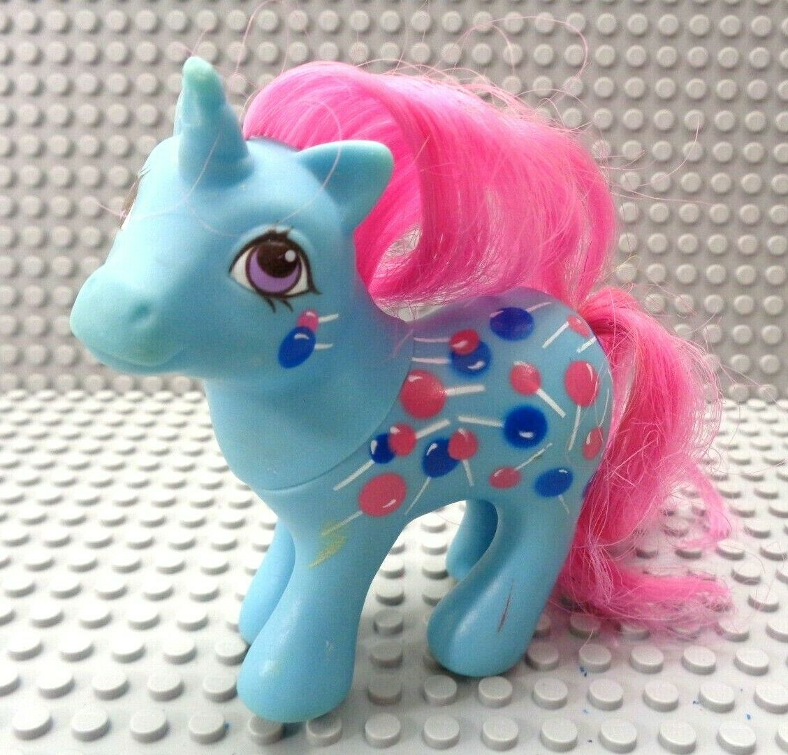 Vintage My little pony G1 G1 G1 Baby Sweet tooth (Mail order) RARE Unicorn 68e