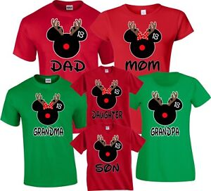 Christmas Family Vacation Packages 2019 Christmas DEER 2018/2019 family Vacation Mickey Minnie Dad Mom