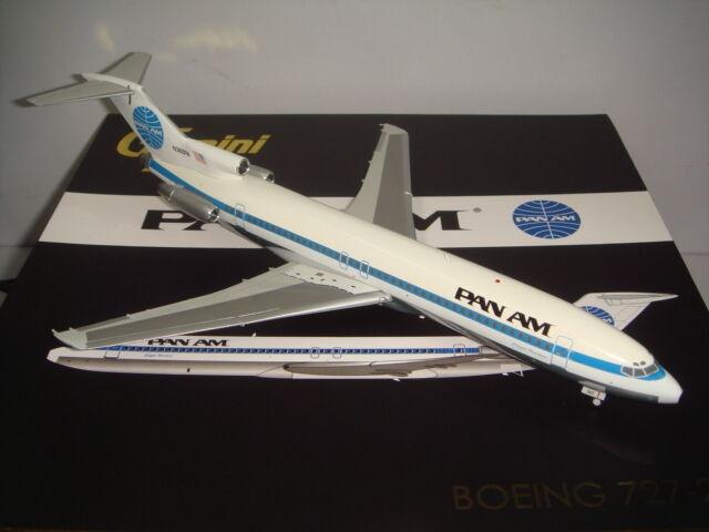 Gemini Jets PAN AMERICAN PAN AM B727-200  1970 S Couleur-Tondeuse Peerless  1 200