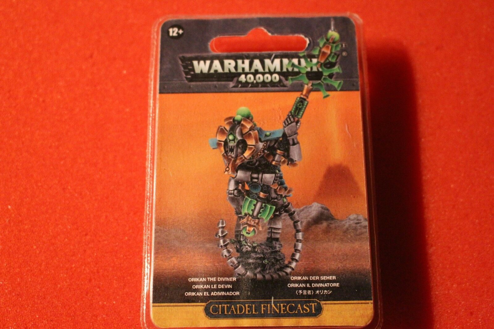 Games Workshop Warhammer 40k Necrons Orikan the Diviner BNIB New Finecast WH40K