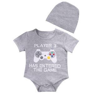 5b9e6f0a2c2 AU Newborn Baby Boy Girl Romper Bodysuit Jumpsuit Summe Clothes ...