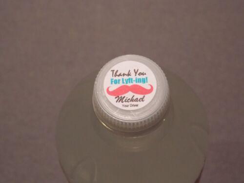 Water Bottles etc. Mints 120 Lyft or Uber Labels Great for Hershey Kisses