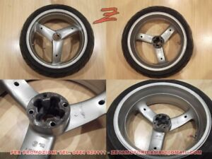cerchio in lega ruota posteriore originale Triumph Daytona T595 955i 17X6.0