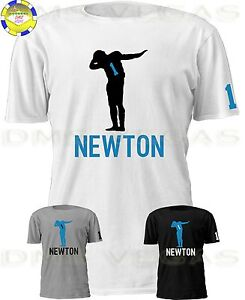 watch 2402a 5e0cc Details about Carolina Panthers Cam Newton Jersey Shirt Shadow Dabbing Men  Size S-5XL