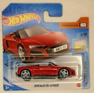 2020 Hot Wheels NIP 2019 Audi R8 Spyder Factory Fresh #1//10