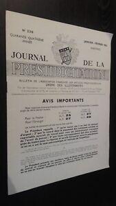 Journal-de-La-Conjuring-N-230-Enero-Febrero-1963-Afap-Buen-Estado