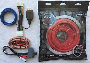 Honda-Acura-Factory-Radio-Add-A-Sub-Amp-Plug-amp-Play-Wire-Harness-Install-Pack