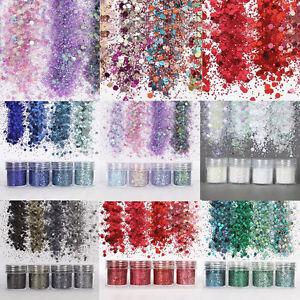 4X-Mirror-Chrome-Effect-Nail-Powder-Pigmento-Polvo-Decoracion-De-Unas