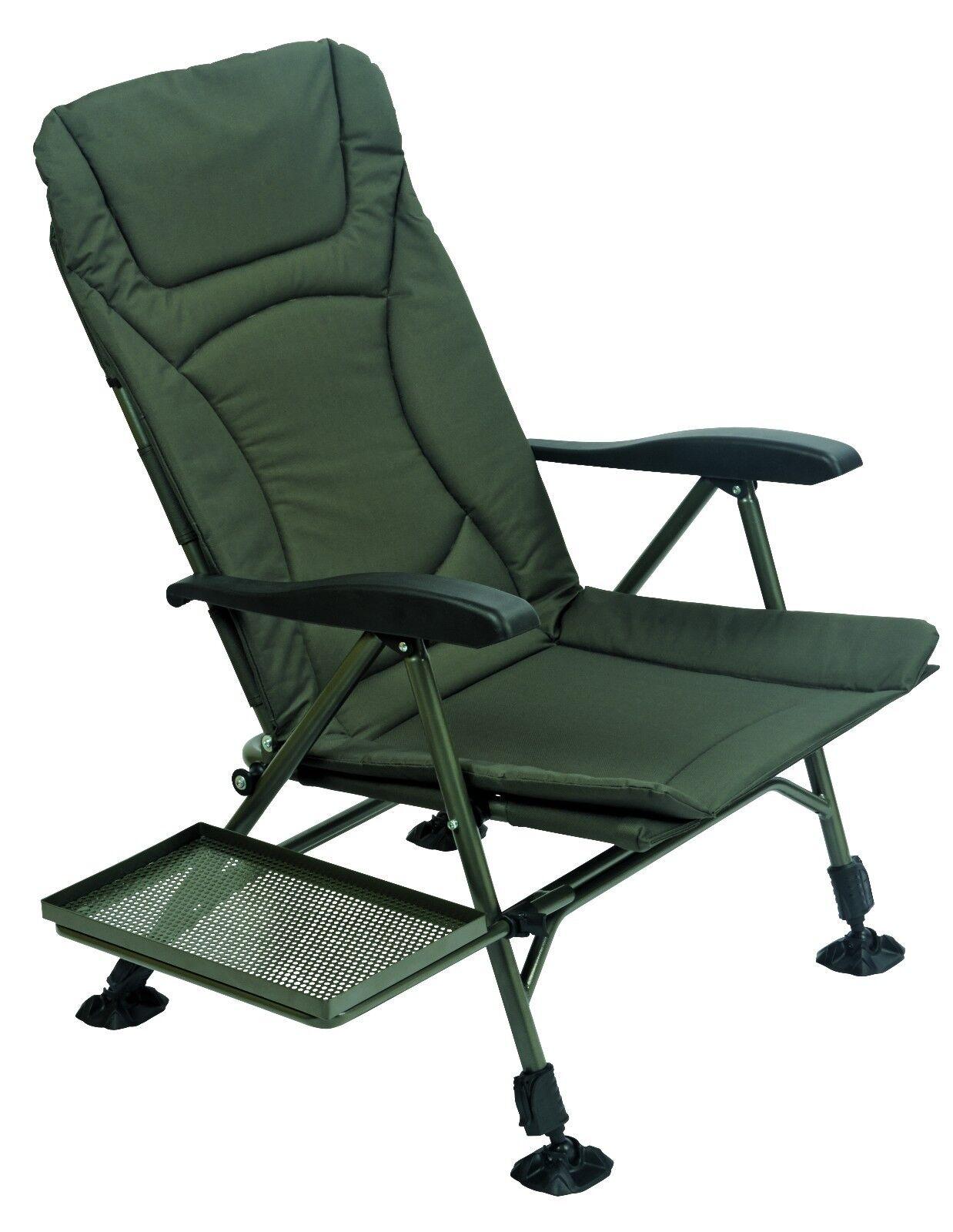 TF Gear NEW Flatout Folding Recliner Carp Fishing Bivvy Arm Chair Ex Demo TFG