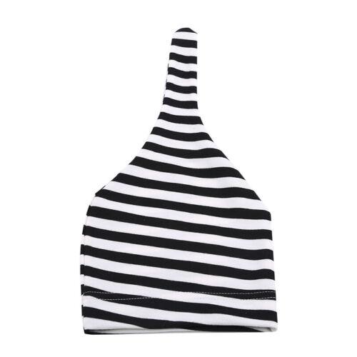 Kids Newborn Baby Striped Hat Toddler Boys Girls Warm Beanie Casual BL