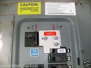 -General-Electric-GE-Generator-interlock-kit-100-Amp-Transfer-switch