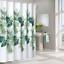 100-tissu-polyester-Design-Moderne-Lavable-Rideau-de-douche-avec-12-crochets miniature 12