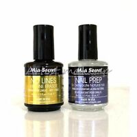 Mia Secret Natural Nail Prep & No Lines Fill Line Eraser Made In Usa - Choose