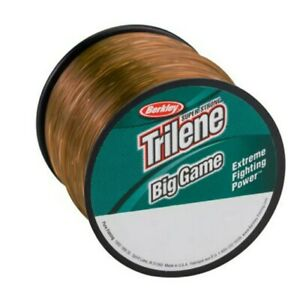 Berkley-Trilene-BigGame-Monofilament-Fishing-Line-Coastal-Brown-Pick-10LB-1500YD