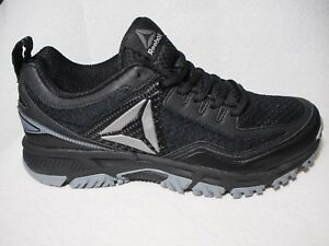 c7416ef2e07cd6 NEW Men s Reebok Ridgerider Trail 2.0 Running ShoeS Black BS5697 SZ ...