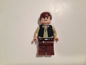 NEW LEGO STAR WARS HAN SOLO 10188 8038 MINIFIG MINIFIGURE FREE SHIPPING!