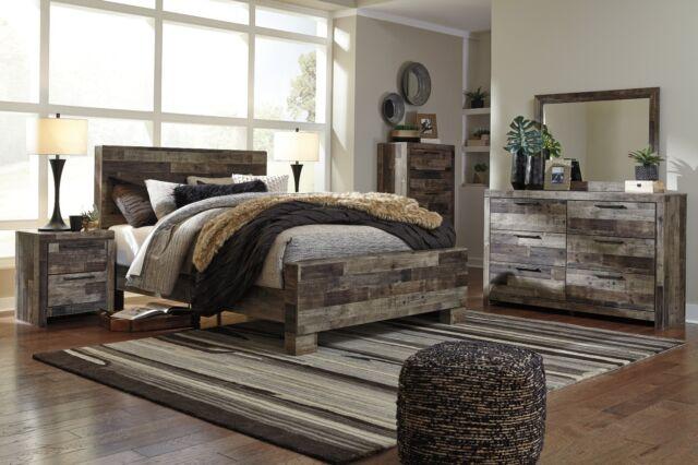 Ashley Furniture Derekson Queen 6 Piece Bedroom Set For Sale Online