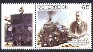Austria-2011-Golsdorf-Trains-Rail-Steam-Locomotive-Railways-Transport-1v-n38984