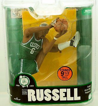 NBA Legends Ser 3 Boston Celtics Bill Russell 9in Action Figure McFarlane Toys